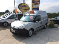 2013 VAUXHALL COMBO 2300 L1 H2 1.6 CDTI **SPECIALIST VEHICLE**DIRECT NHS**40K** £6995.00