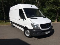 USED 2014 64 MERCEDES-BENZ SPRINTER 2.1 313 CDI MWB 1d 129 BHP