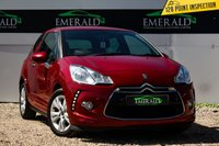 USED 2011 11 CITROEN DS3 1.6 DSTYLE 3d 120 BHP £0 DEPOSIT FINANCE AVAILABLE, AIR CONDITIONING, CD/MP3/RADIO, CLIMATE CONTROL, CLOTH UPHOLSTERY, DAYTIME RUNNING LIGHTS, STEERING WHEEL CONTROLS, TRIP COMPUTER