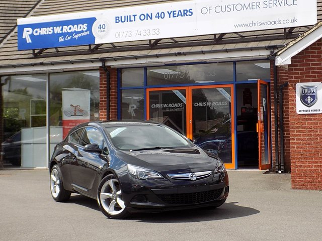 USED 2016 66 VAUXHALL ASTRA GTC 1.4 GTC SPORT 3dr (118) ** 19in Alloys + Bluetooth **