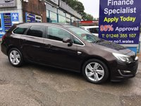 2014 VAUXHALL ASTRA 2.0 SRI CDTI S/S 5d 163 BHP, only 11000 miles, 1 owner £8995.00