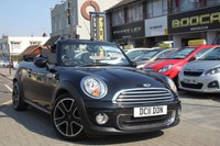 2011 MINI CONVERTIBLE 1.6 ONE 2d 98 BHP £SOLD