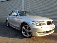 USED 2009 59 BMW 1 SERIES 2.0 120I SPORT 2d AUTO 168 BHP The Car Finance Specialist