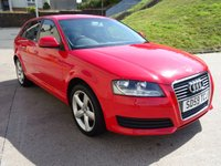 USED 2009 59 AUDI A3 1.6 SPORTBACK MPI TECHNIK 5d 101 BHP ++TIMING BELT CHANGED++  SERVICE RECORD +   BOSE SOUND SYSTEM +  SERVICE RECORD
