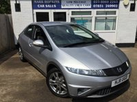 USED 2011 11 HONDA CIVIC 1.3 I-VTEC SE 5d 98 BHP 23K FSH 2 OWNERS 6SPD PUSH BUTTON IGN LOW TAX/ INS EXC CONDITION