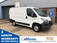 2015 CITROEN RELAY 30 L1H1 ENTERPRISE HDI