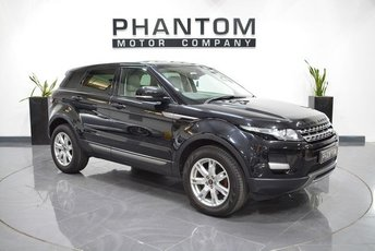 2013 LAND ROVER RANGE ROVER EVOQUE 2.2 ED4 PURE TECH 5d 150 BHP £16490.00