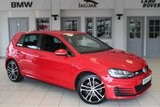USED 2014 64 VOLKSWAGEN GOLF 2.0 GTD 5d 181 BHP FULL VW SERVICE HISTORY + SATELLITE NAVIGATION + BLUETOOTH + 18 INCH ALLOYS + PARKING SENSORS + DAB RADIO + CRUISE CONTROL + AIR CONDITIONING + VEHICLE DIDTANCE CONTROL