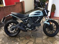 USED 2016 65 DUCATI SCRAMBLER SIXTY2. 1900 MILES. LOVELY CONDITION. A2 LICENSE. 2016