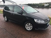 2015 VOLKSWAGEN SHARAN 2.0 SE NAV TDI BLUEMOTION TECHNOLOGY DSG 5d AUTO 148 BHP £16990.00