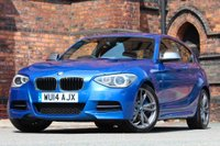 USED 2014 14 BMW 1 SERIES 3.0 M135i M Sports Hatch (s/s) 3dr FSH-CORAL RED LEATHER