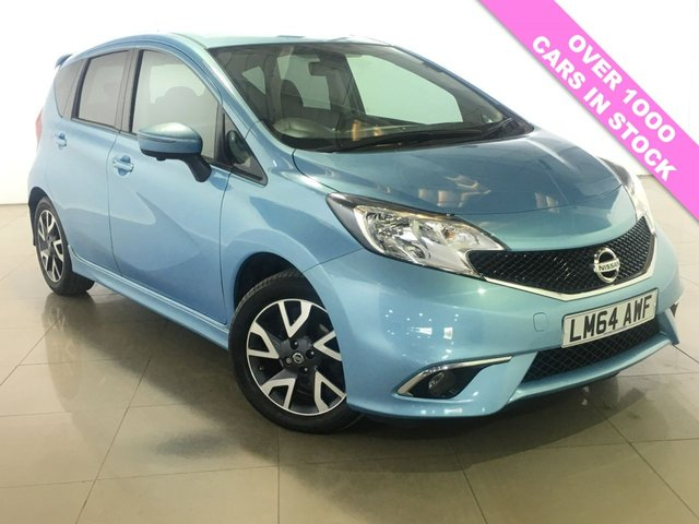 View our 2014 64 NISSAN NOTE 1.5 DCI TEKNA 5d 90 BHP