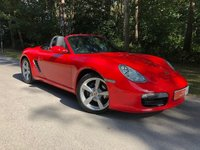 "USED 2007 07 PORSCHE BOXSTER 2.7 24V 2d 242 BHP SOUND PACK HEATED SEATS PARK ASSIST 18"" CAYMAN S WHEELS"