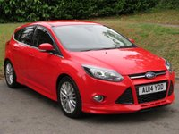 USED 2014 R FORD FOCUS 1.6 ZETEC S TDCI 5d 113 BHP FULL SERVICE HISTORY (5 STAMPS!)