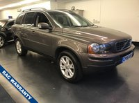 USED 2007 56 VOLVO XC90 2.4 D5 SE AWD 5d 183 BHP REPLACED TURBO CHARGER AND NEW FUEL FILTER, REAR PARKING SENSORS, NEW 12 MONTH MOT AND A FULL SERVICE.