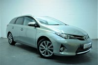 2013 TOYOTA AURIS 1.8 VVT-I EXCEL 5d AUTO 98 BHP £9995.00