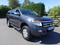 2015 FORD RANGER XLT 4X4 DOUBLE CAB 2.2 TDCI 150 BHP £11995.00