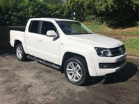 USED 2014 14 VOLKSWAGEN AMAROK 2.0 DC TDI HIGHLINE 4MOTION 1d AUTO 180 BHP 1 Owner / Satellite Navigation