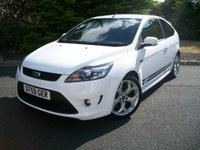 USED 2009 59 FORD FOCUS 2.5 ST-2 3d 223 BHP A Rare unrepeatable opportunity to own this collectable Ford Focus ST-2 Edition, JUST 23,000 Miles From New with Full Ford Dealership Service History!!!