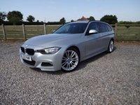 2013 BMW 3 SERIES 2.0 320D M SPORT TOURING 5d 181 BHP £12490.00
