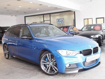 2014 BMW 3 SERIES 2.0 328I M SPORT TOURING 5d AUTO 242 BHP £17990.00
