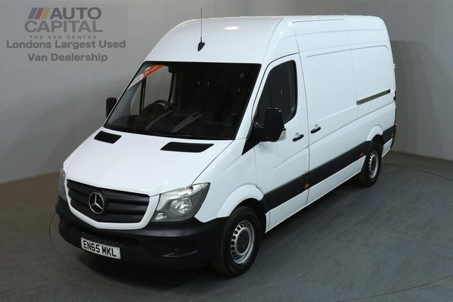 2015 65 MERCEDES-BENZ SPRINTER 2.1 313 CDI 129 BHP MWB HIGH ROOF REVERSE CAMERA