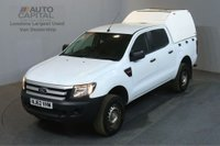 USED 2012 62 FORD RANGER 2.2 XL 4X4 DCB TDCI 148 BHP AIR CON PICK UP £6,990+VAT AIR CONDITIONING