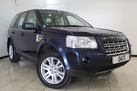 USED 2007 57 LAND ROVER FREELANDER 2 2.2 TD4 HSE 5DR AUTOMATIC 159 BHP SAT NAV HEATED LEATHER SEATS + SAT NAVIGATION + DOUBLE SUNROOF + PARKING SENSOR + BLUETOOTH + CRUISE CONTROL + MULTI FUNCTION WHEELS + 18 INCH ALLOY WHEELS