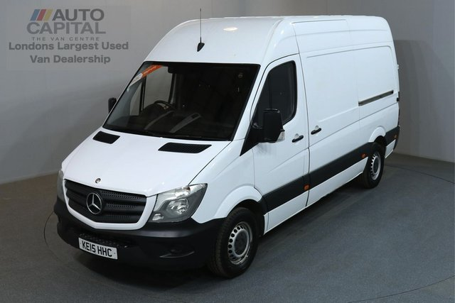 2015 15 MERCEDES-BENZ SPRINTER 2.1 313 129 BHP MWB HIGH ROOF ONE OWNER, SERVICE HISTORY