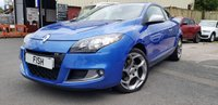 USED 2010 60 RENAULT MEGANE 2.0 GT DCI FAP 3d 160BHP coupe 2KEYS+18 INCH ALLOYS+SPORT KIT