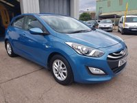 USED 2012 12 HYUNDAI I30 1.4 ACTIVE 5d 98 BHP **SUPERB DRIVE**GREAT CONDITION**