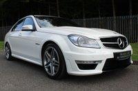 2011 MERCEDES-BENZ C CLASS 6.2 C63 AMG EDITION 125 4d AUTO 457 BHP £23500.00