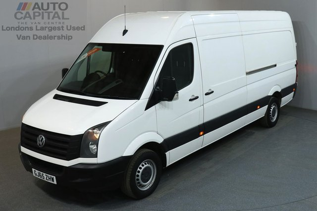 2015 65 VOLKSWAGEN CRAFTER 2.0 CR35 TDI 135 BHP LWB HIGH ROOF  ONE OWNER, SERVICE HISTORY