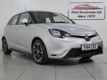 2014 MG 3 1.5 3 STYLE VTI-TECH 5d 106 BHP £SOLD
