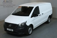 USED 2017 17 MERCEDES-BENZ VITO 1.6 109 CDI 88 BHP LWB EURO 6 SERVICE HISTORY, MANUFACTURER WARRANTY UNTIL 25/06/2020