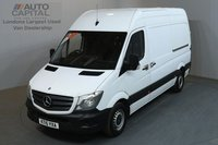 USED 2015 15 MERCEDES-BENZ SPRINTER 2.1 313 CDI 129 BHP MWB HIGH ROOF ONE OWNER, SERVICE HISTORY