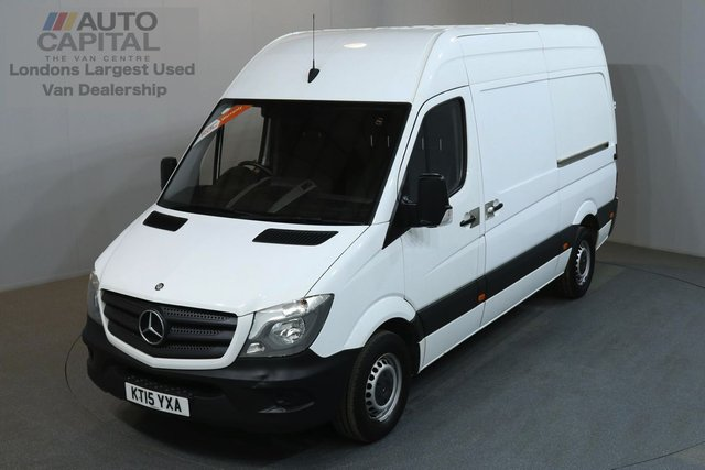 2015 15 MERCEDES-BENZ SPRINTER 2.1 313 CDI 129 BHP MWB HIGH ROOF ONE OWNER, SERVICE HISTORY