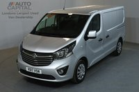 USED 2017 17 VAUXHALL VIVARO 1.6 2900 SPORTIVE 120 BHP L1 H1 SWB LOW ROOF AIR CON E6 MANUFACTURER WARRANT UNTIL 17/07/2020