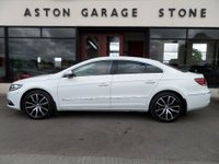 USED 2017 17 VOLKSWAGEN CC 2.0 GT TDI BLUEMOTION TECHNOLOGY DSG AUTO 148 BHP **NAV * LEATHER** ** FULL VW SERVICE HISTORY **