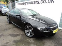 USED 2005 55 BMW 6 SERIES 5.0 M6 2d AUTO 501 BHP 52000 Miles Full BMW Dealer Service History
