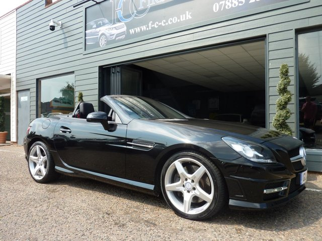 2013 13 MERCEDES-BENZ SLK 2.1 SLK250 CDI BLUEEFFICIENCY AMG SPORT 2d AUTO 204 BHP
