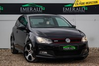 USED 2013 63 VOLKSWAGEN POLO 1.4 GTI DSG 3d AUTO 177 BHP £0 DEPOSIT FINANCE AVAILABLE, AIR CONDITIONING, BLUETOOTH CONNECTIVITY, CLIMATE CONTROL, CRUISE CONTROL, DAB RADIO, DAYTIME RUNNING LIGHTS, DSG AUTOMATIC GEARBOX, FULL GTI UPHOLSTERY, TINTED WINDOWS