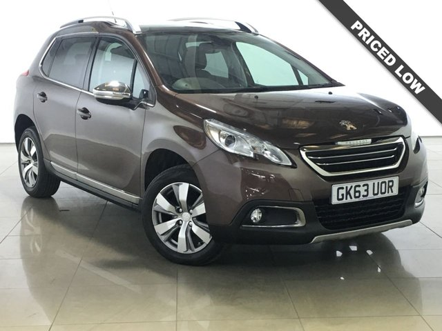 View our 2013 63 PEUGEOT 2008 1.2 ALLURE 5d 82 BHP