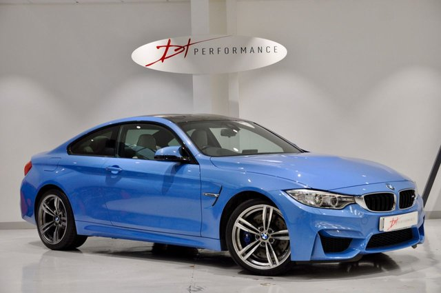 2016 66 BMW M4 3.0 M4 2d AUTO 426 BHP HUGE SPECIFICATION YAS MARINA BLUE