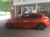 USED 2012 12 BMW 1 SERIES 2.0 125D M SPORT 5d AUTO 215 BHP STUNNING VALENCIA ORANGE BMW 125 D M SPORT AUTO