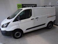 2014 FORD TRANSIT CUSTOM 2.2 270 LR P/V 1d 99 BHP £9990.00
