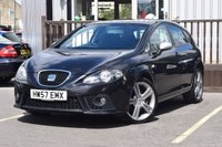 USED 2007 57 SEAT LEON 2.0 FR TFSI 5d 198 BHP STUNNING EXAMPLE WITH GREAT SERVICE HISTORY INC CAMBELT AND WATER PUMP, 2KEYS