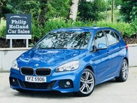 2015 BMW 2 SERIES 1.5 216D M SPORT ACTIVE TOURER 5d 114 BHP £13995.00