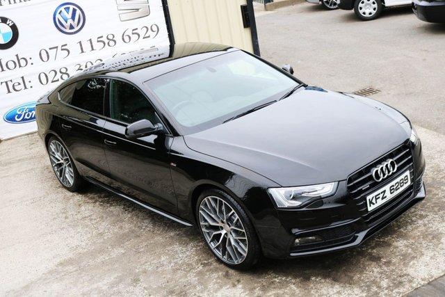 2012 AUDI A5 2.0 TDI QUATTRO S LINE Black edition spec 5d 175 BHP (Finance & Warranty)
