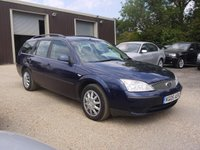 USED 2005 05 FORD MONDEO 2.0 TDCI LX 5 Door Diesel Estate In Blue Part Ex To Clear
